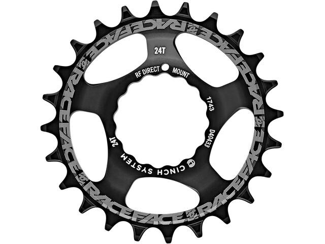 Race Face DM Cinch Corona dentata 10/11/12 velocità, black